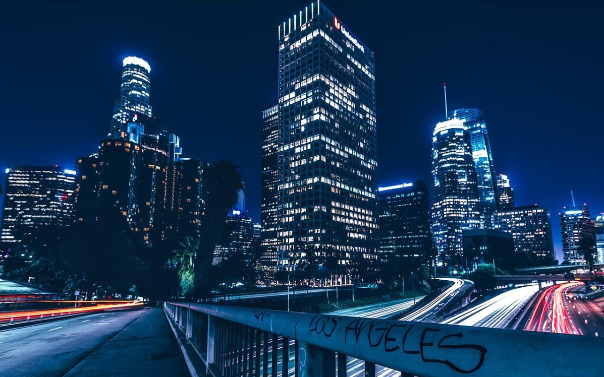 město Los Angeles