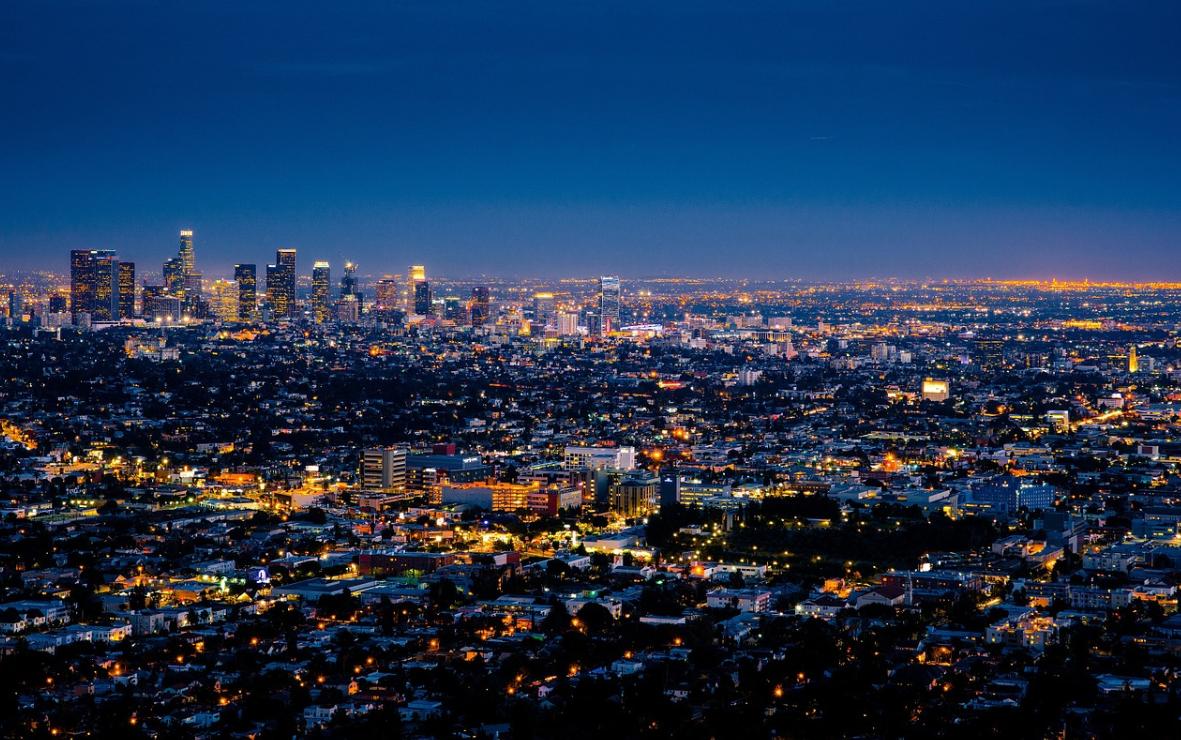 moderní Los Angeles